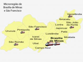 Microrregião de Brasília de Minas e São Francisco