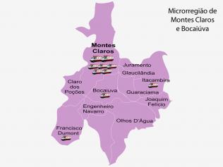 Microrregião de Montes Claros e Bocaiúva