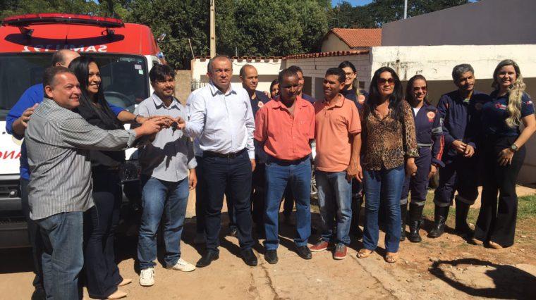 Renovação da frota do SAMU Macro Norte – Mais sete municípios receberam novas ambulâncias