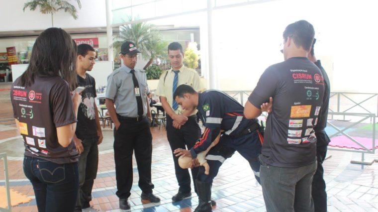 SAMU Macro Norte realizada Dia da Reanimação Cardiopulmonar