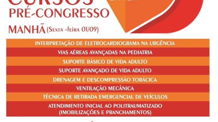 1º Congresso Norte Mineiro de Urgência e Emergência – Inscrições para cursos já estão disponíveis