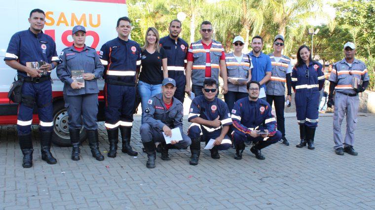 SAMU Macro Norte participa de Campanha Direção e Álcool