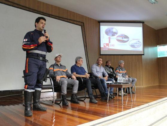SAMU realiza curso para motociclistas