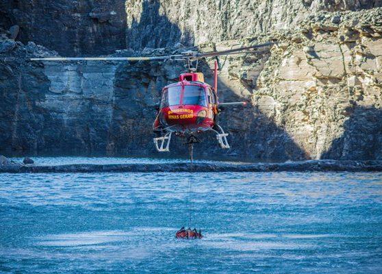 SAMU e bombeiros participam de treinamento com helicóptero na próxima sexta