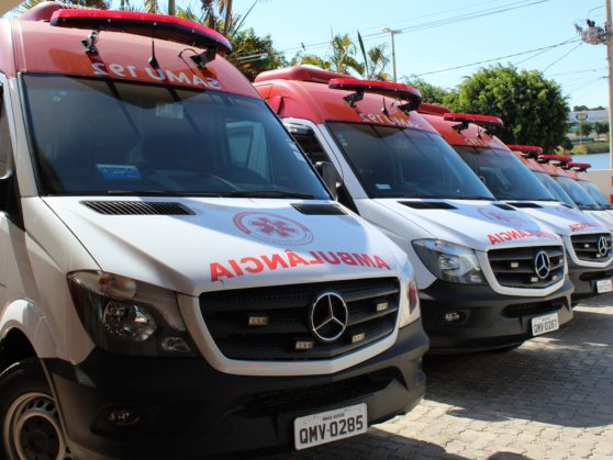 SAMU recebe ambulâncias para ampliação do serviço