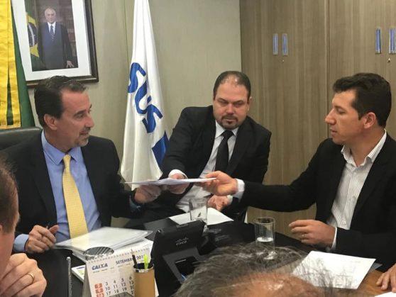 Presidente do Cisrun vai à Brasília solicitar repasse para implantação de bases do SAMU