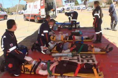 Campanha Maio – Amarelo SAMU participará de simulação de atendimento de acidente na linha férrea